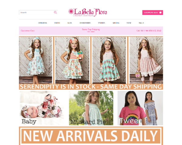 Portfolio-labellaflora Childrens Boutique
